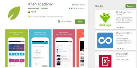App4Italy. La recensione del giorno, KhanAcademy