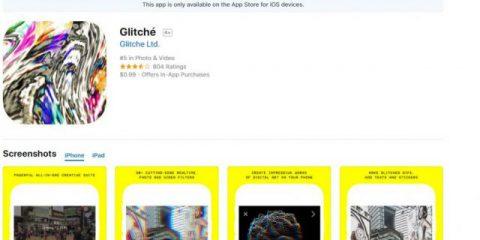 App4Italy. La recensione del giorno, Glitch