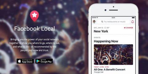 App4Italy. La recensione del giorno, Facebook Local