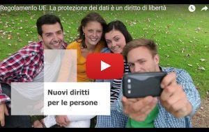 spot Garante Privacy GDPR