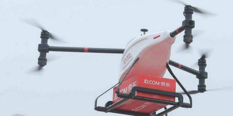Droni e eCommerce in Cina, già fatte 20mila consegne in 100 villaggi