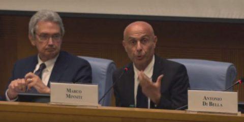 #PersoneInRete, il videointervento di Marco Minniti (Pd) ex ministro dell'Interno