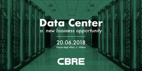 Save the date. Data Center: a new business opportunity. Milano, 20 giugno 2018