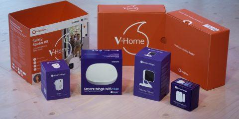 Vodafone italia presenta 'V-Home', il kit per una smart home a portata di click