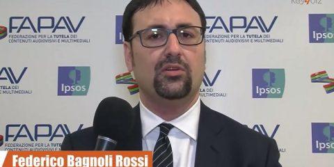 Pirateria audiovisiva in Italia, indagine FAPAV/Ipsos: videointervista a Federico Bagnoli Rossi, Segretario Generale FAPAV