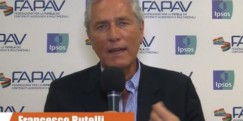 Pirateria audiovisiva in Italia, indagine FAPAV/Ipsos: videointervista a Francesco Rutelli, Presidente ANICA
