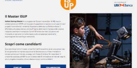 Enterprise 4.0. Startup ma non solo alla quarta edizione di Isup