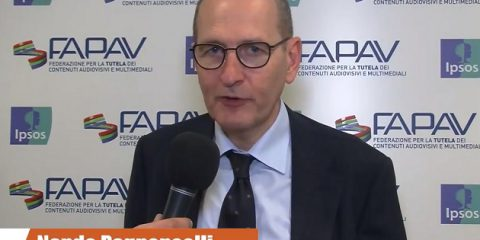 Pirateria audiovisiva in Italia, indagine FAPAV/Ipsos: videointervista a Nando Pagnoncelli, Presidente Ipsos Italia