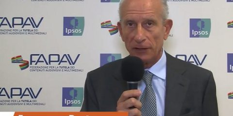 Pirateria audiovisiva in Italia, indagine FAPAV/Ipsos: videointervista a Francesco Posteraro, Commissario AGCOM