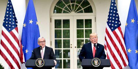 Dazi, tregua UE-USA ma non sulle auto. Tasse su veicoli costerebbero all'Italia 5 miliardi di euro