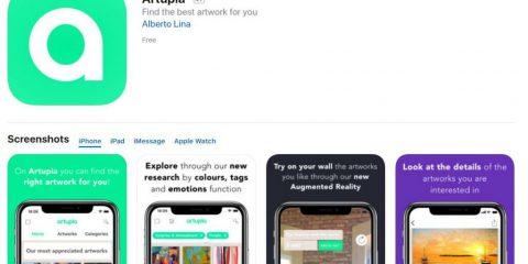 App4Italy. La recensione del giorno, Artupia