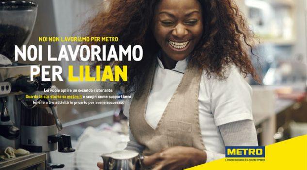 nuova campagna metro italia