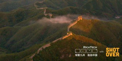 Videodroni. Cina, la Grande Muraglia vista dal drone
