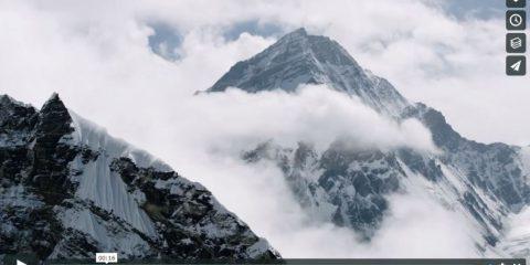 Videodroni. Ove osano le aquile, il Monte Everest visto dal drone
