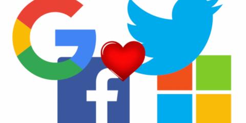 GDPR, il 'giardinetto' di Google, Facebook, Microsoft e Twitter per non perdere i dati degli utenti