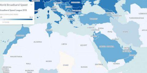 I 23 paesi con la connessione a banda larga più veloce