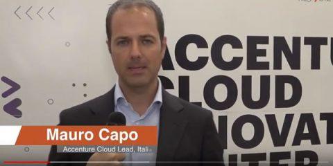 'Nel nuovo Cloud Innovation Center sviluppiamo prototipi e casi d'uso reali'. Intervista a Mauro Capo, Accenture Cloud Lead Italia