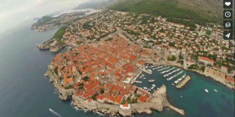 Videodroni. A spasso su Dubrovnik con l'occhio del drone