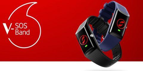 Vodafone lancia 'V-Sos Band', il braccialetto IoT per le emergenze