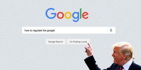 Trump studia norme per l'imparzialità di Google, Facebook e Twitter