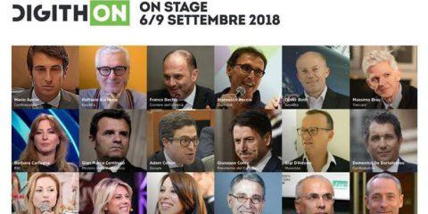 DigithON 2018, al via dal 6 al 9 settembre in Puglia. Il premier Conte e Di Maio tra gli ospiti