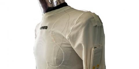 Tecnologie indossabili, fatta in Italia la maglietta smart che fa il check up in tempo reale