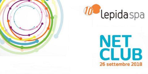 Lepida, il 26 settembre a Bologna evento 'NetClub' su reti e servizi in Emilia Romagna