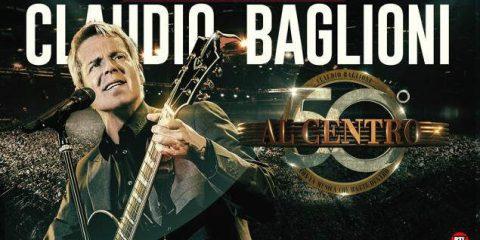 Claudio Baglioni live 'Al centro', su tivùsat il 15 settembre