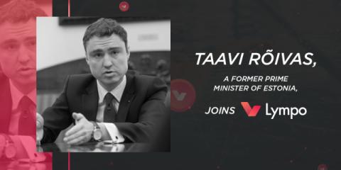 Blockchain, Taavi Rõivas presidente del board di Lympo
