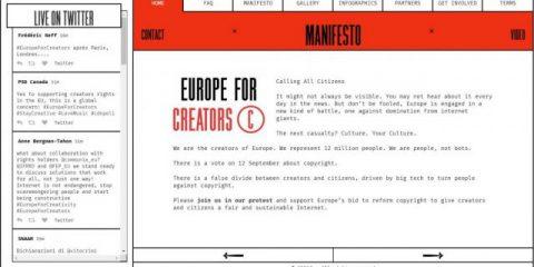 Europeforcreators.eu