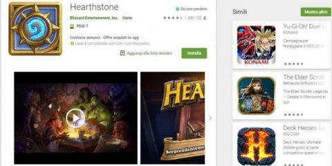 App4Italy. La recensione del giorno, Hearthstone