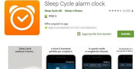 App4Italy. La recensione del giorno, Sleep Cycle