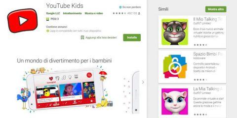 App4Italy. La recensione del giorno, YouTube Kids