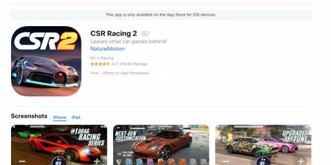 App4Italy. La recensione del giorno, CSR Racing 2