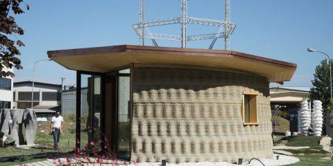 Scarti alimentari e materiali a km 0, ecco la prima casa green stampata in 3D 'made in Italy'