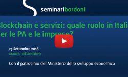 Videoreportage Seminario Fub Blockchain