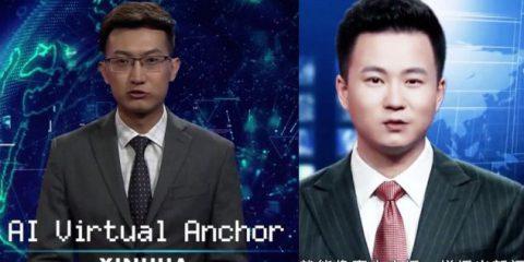 IA, in Cina i primi conduttori digitali dei Tg. Non sono una minaccia per i bravi giornalisti