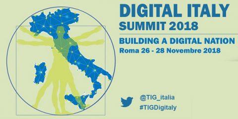 Exprivia Italtel sponsor della manifestazione Digital Italy 2018, a Roma dal 26 al 28 novembre