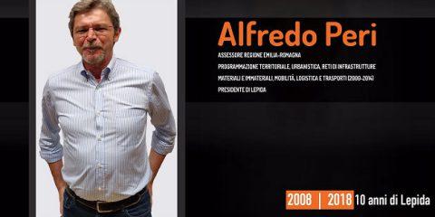 10 anni di Lepida, la testimonianza video di Alfredo Peri