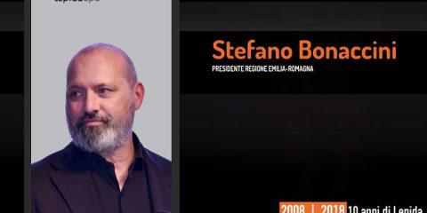 10 anni di Lepida, la testimonianza video di Stefano Bonaccini (Presidente Regione Emilia Romagna)