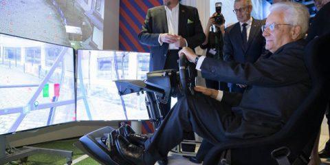 5G, Sergio Mattarella in Svezia visita Ericsson e Open Fiber
