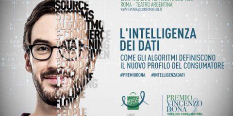 Unc, l'intelligenza dei dati il tema della XII edizione del 'Premio Dona'