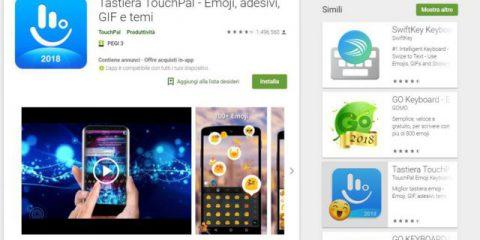 App4Italy. La recensione del giorno, TouchPal