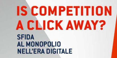 """Invito alla Presentazione del libro """"Is Competition a Click Away?"""", di Stefano Mannoni e Guido Stazi. Roma, 12 novembre 2018"""