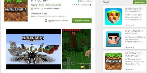 App4Italy. La recensione del giorno, Minecraft
