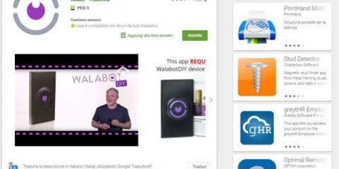 App4Italy. La recensione del giorno, Walabot DIY