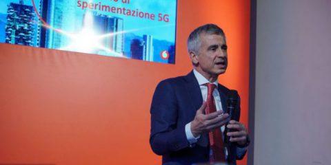 Aldo Bisio (Vodafone Italia) 'Milano capitale europea del 5G'
