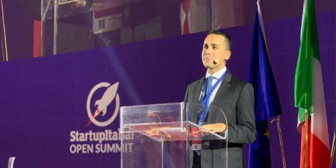 Startup, Di Maio 'Dal 1° gennaio attivo il Fondo Italiano Innovazione, con un miliardo di euro'