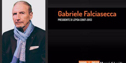 10 anni di Lepida, la testimonianza video di Gabriele Falciasecca