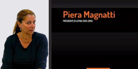 10 anni di Lepida, la testimonianza video di Piera Magnatti